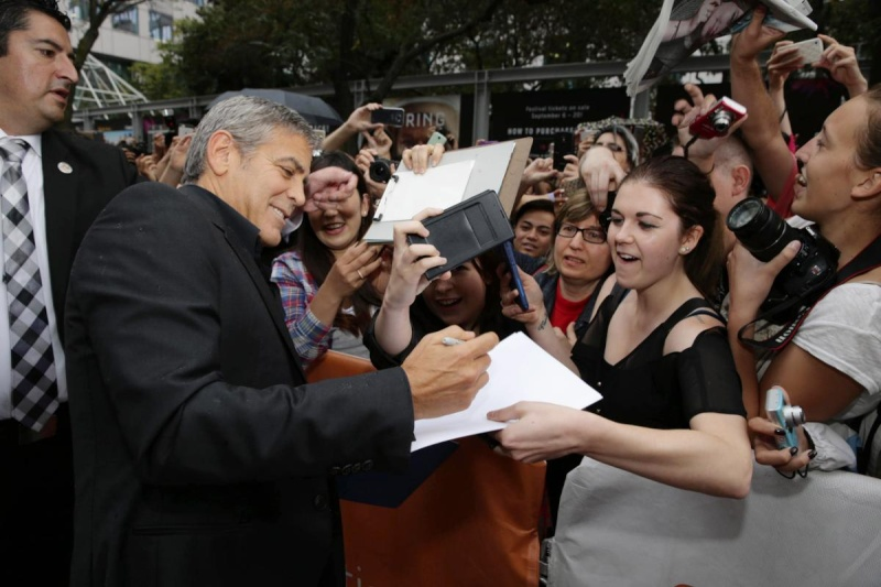 George Clooney at Toronto film festival 11th September 2015 Cc1310