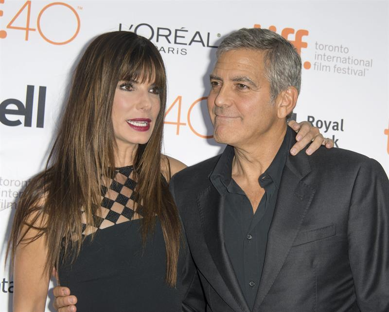 George Clooney at Toronto film festival 11th September 2015 Cc1410