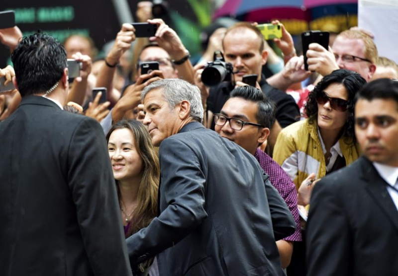 George Clooney at Toronto film festival 11th September 2015 Cc210