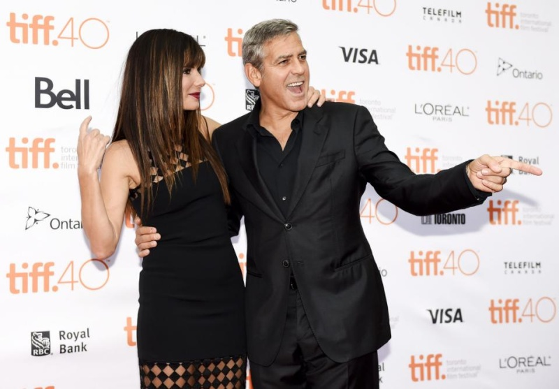 George Clooney at Toronto film festival 11th September 2015 Cc310