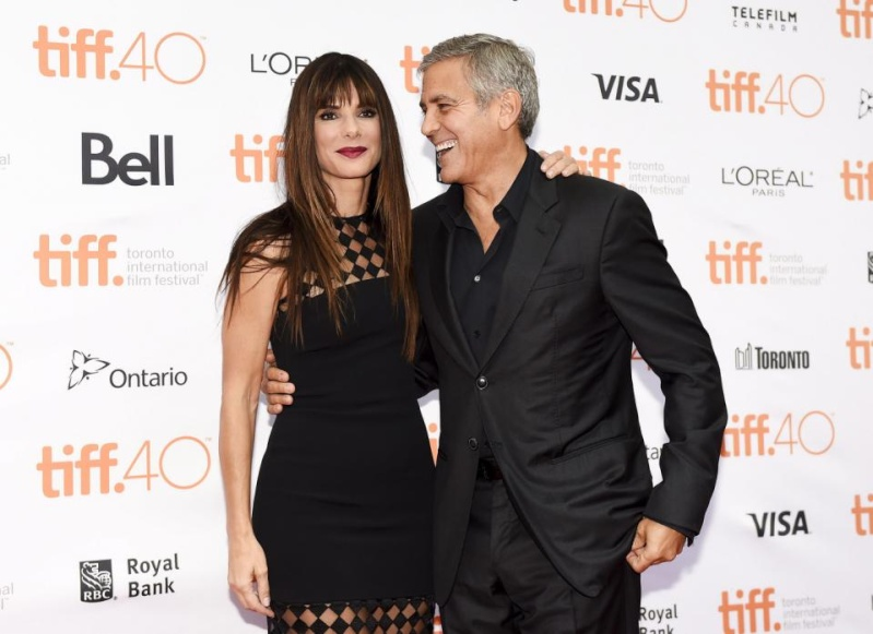 George Clooney at Toronto film festival 11th September 2015 Cc410