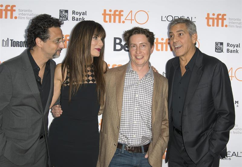 George Clooney at Toronto film festival 11th September 2015 Cc610