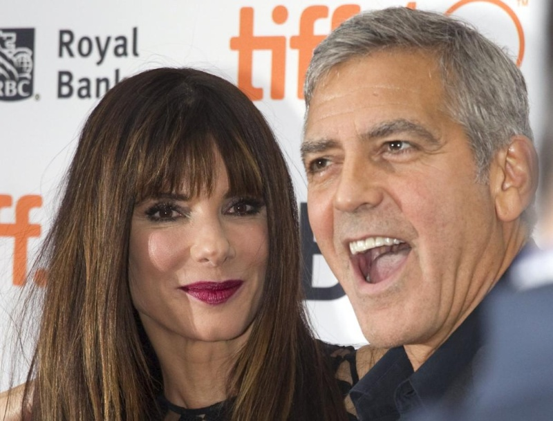 George Clooney at Toronto film festival 11th September 2015 Cc710