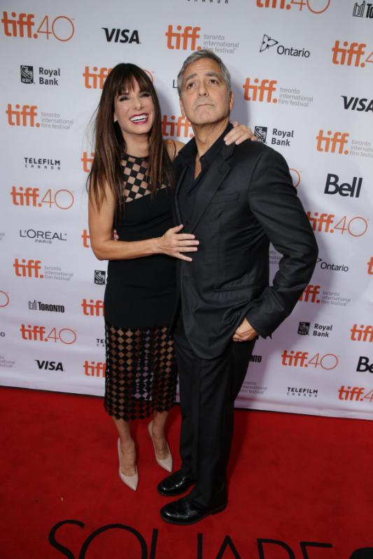 George Clooney at Toronto film festival 11th September 2015 Cc810