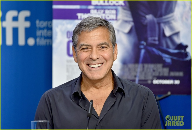 George Clooney at TIFF press conference 12. Sept 2015 Ccc10