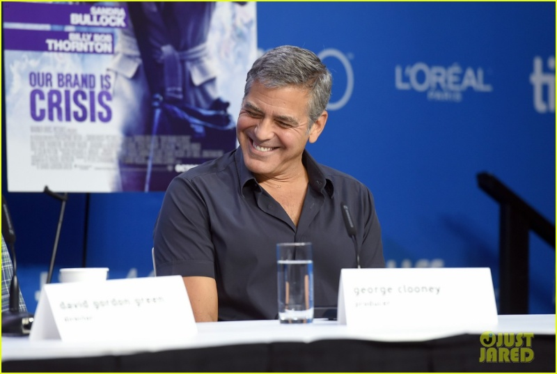 George Clooney at TIFF press conference 12. Sept 2015 Ccc310