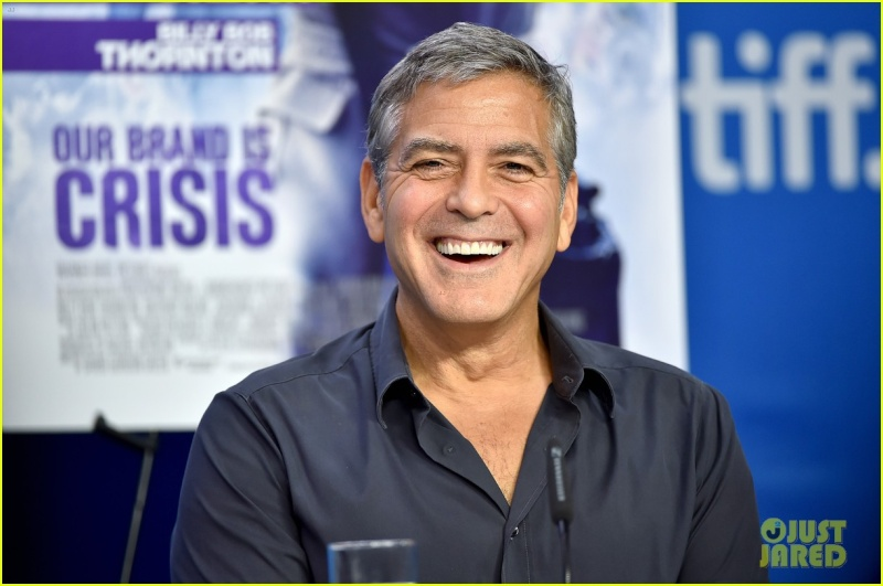 George Clooney at TIFF press conference 12. Sept 2015 Ccc510