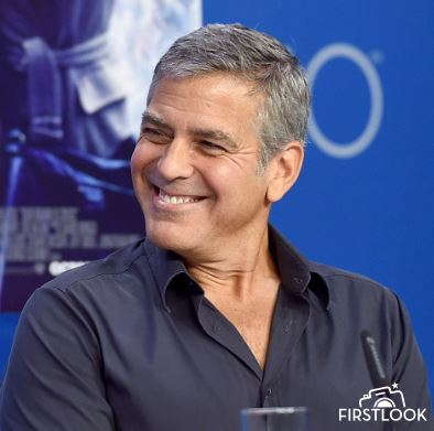 George Clooney at TIFF press conference 12. Sept 2015 Ddd410