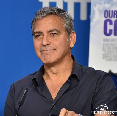 George Clooney at TIFF press conference 12. Sept 2015 Ddd610