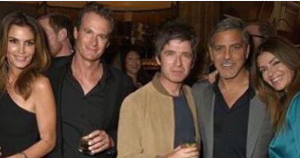 George Clooney at Launch of Casamigos/Cindy Crawford Book October 1, 2015 in London  Dddd10