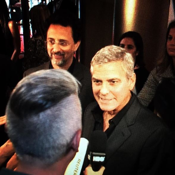 George Clooney at Toronto film festival 11th September 2015 Ee310
