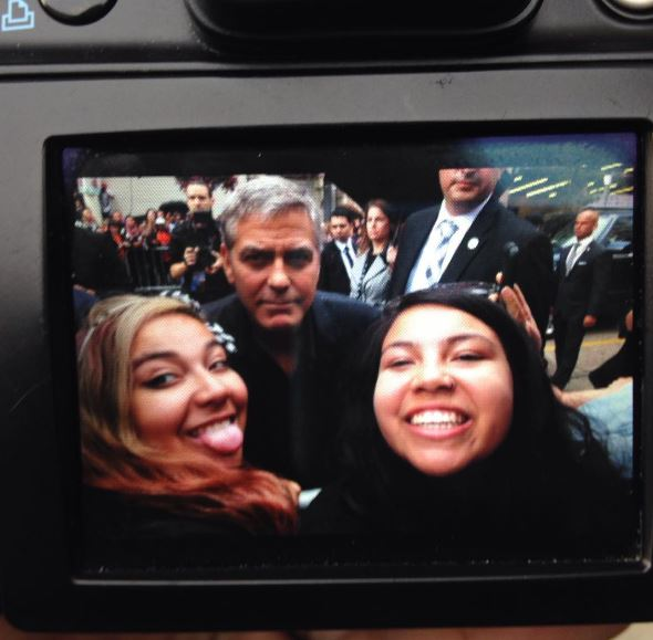 George Clooney at Toronto film festival 11th September 2015 Ee610
