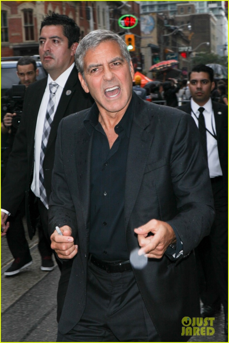 George Clooney at Toronto film festival 11th September 2015 Gggg10