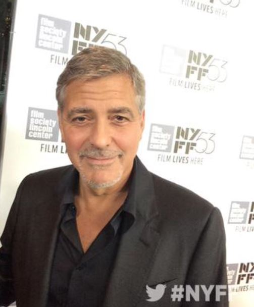 George Clooney at the New York Film Festival anniversary screening of O BROTHER, WHERE ART THOU 29th September 2015 Jjj10