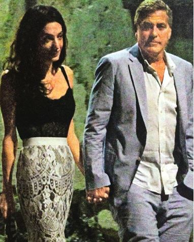 New Photo of George and Amal? Lake Como Oo210