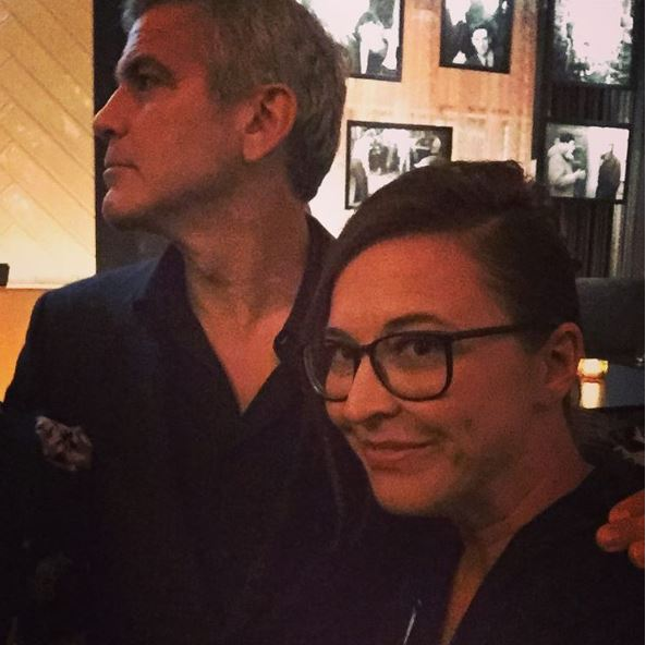 George Clooney at Toronto film festival 11th September 2015 - Page 2 Qqq10