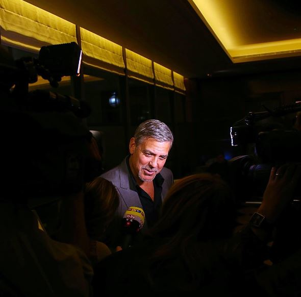 George Clooney at Launch of Casamigos/Cindy Crawford Book October 1, 2015 in London  Qqqq10
