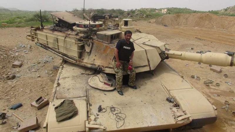 نظرة تحليلية ناقدة لأداء الدبابة الفرنسية لوكلير في اليمن . Abrams10