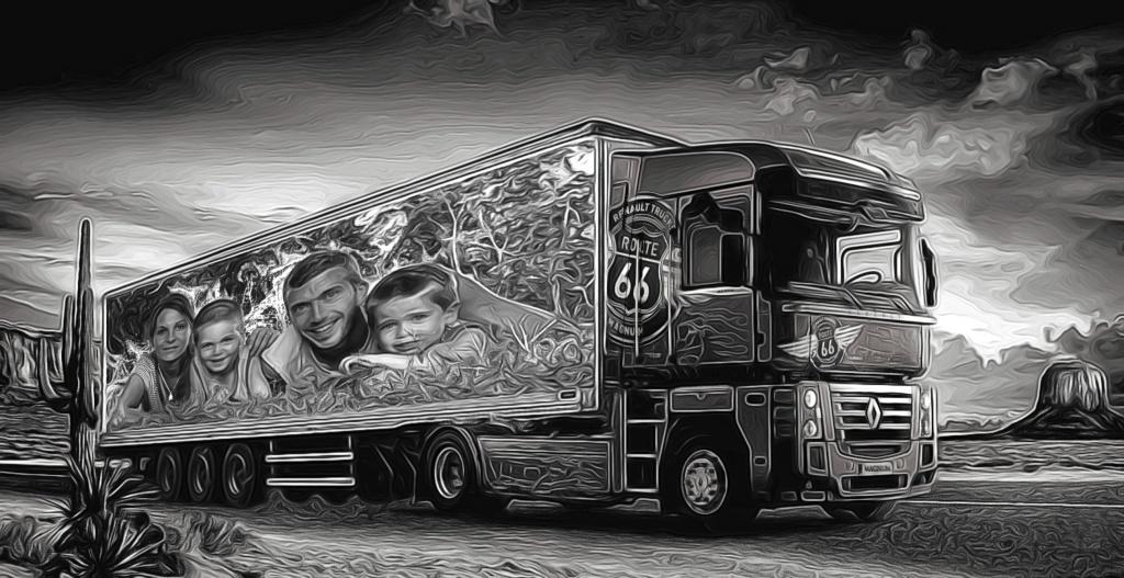 Demande de montage Camion pour routier Copie810