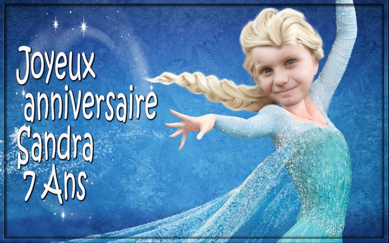 Anniversaire Reine des neiges Frozen10
