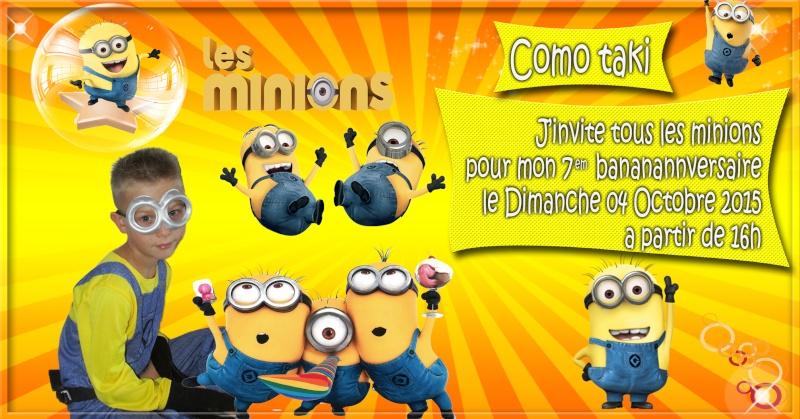 anniversaire les minions Minion10
