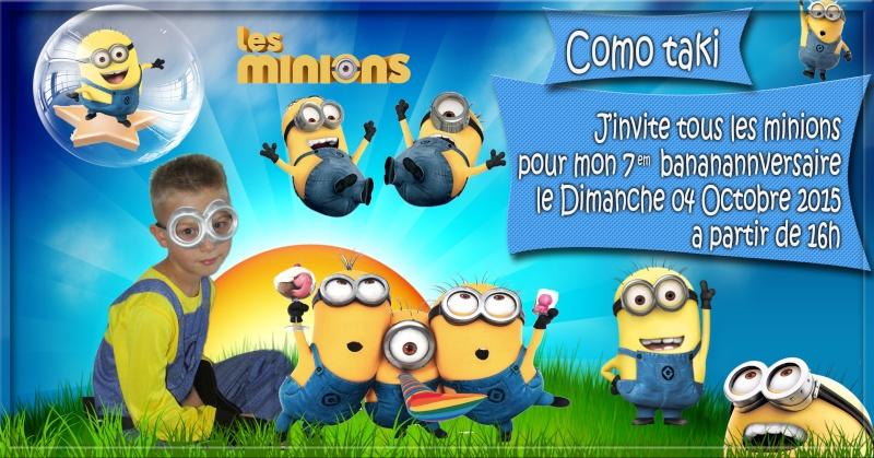 anniversaire les minions Minion11