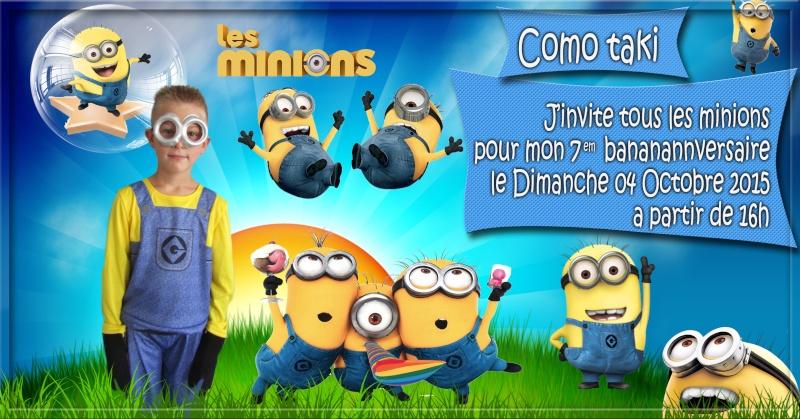 anniversaire les minions Minion12