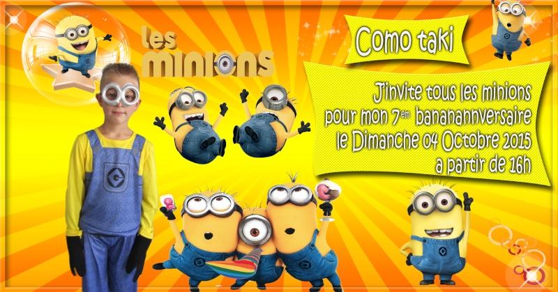 anniversaire les minions Minion13