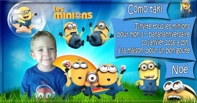 anniversaire des enfants :) Minion14