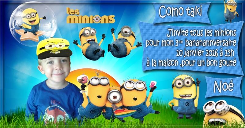 anniversaire des enfants :) Minion15