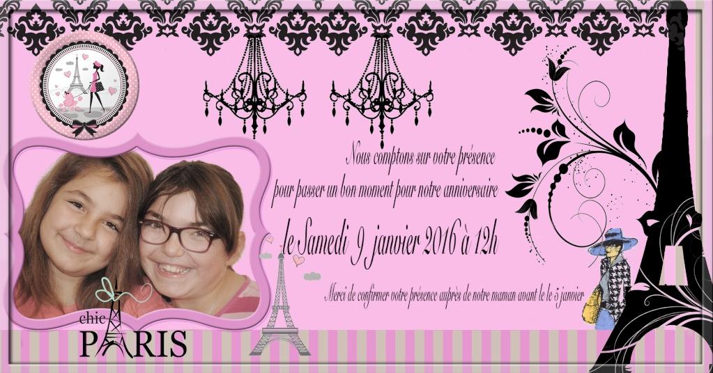 9 ans des filles Parisc10