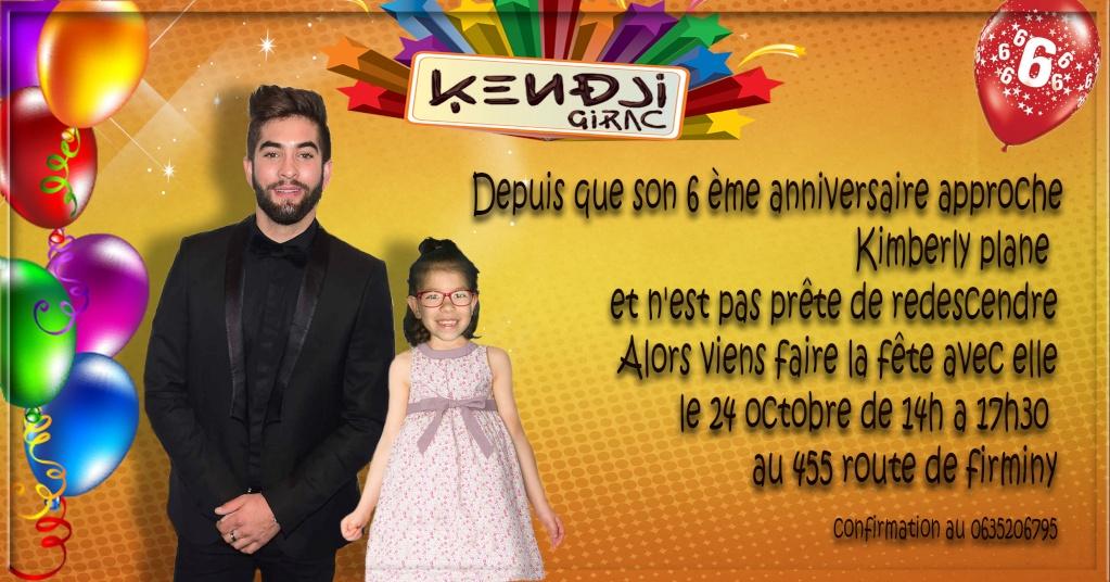 invitation  anniversaire Kendji Girac Sans_t21