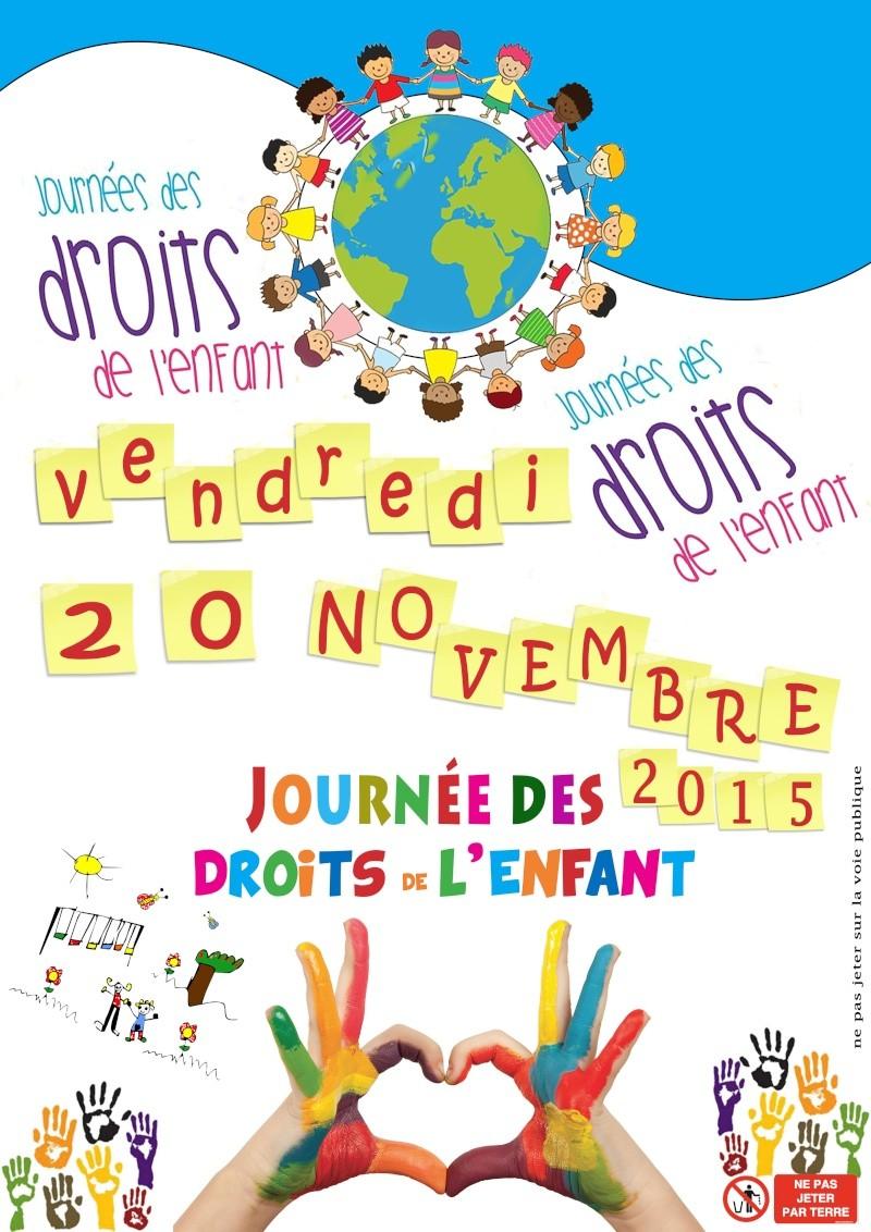 Affiche journées des droits de l'enfant Sans_t45