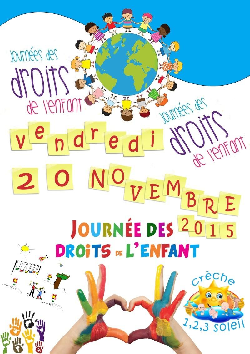 Affiche journées des droits de l'enfant Sans_t46