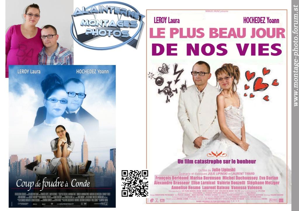 affiche de film personnalisée  sur theme mariage Sans_t51