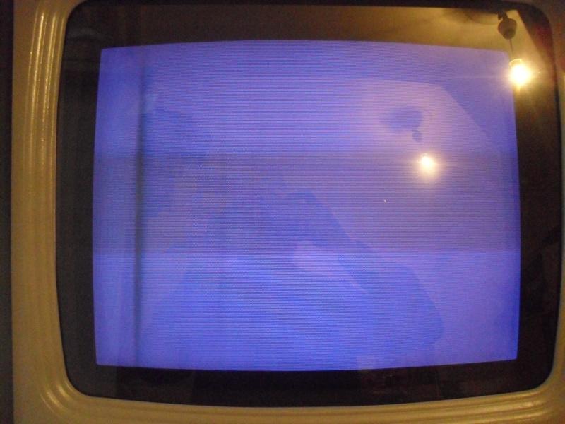 Problème bande fantome sur écran intervideo 0110