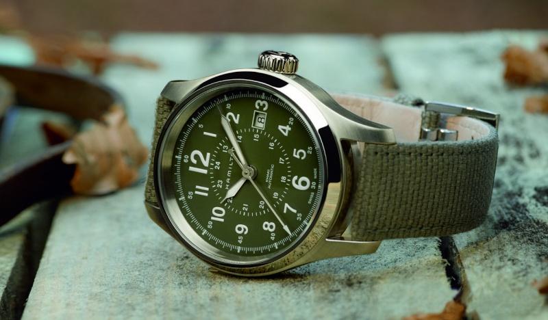 Première montre pour 30 ans < 1000 euros (Archimede ?) Khaki-11