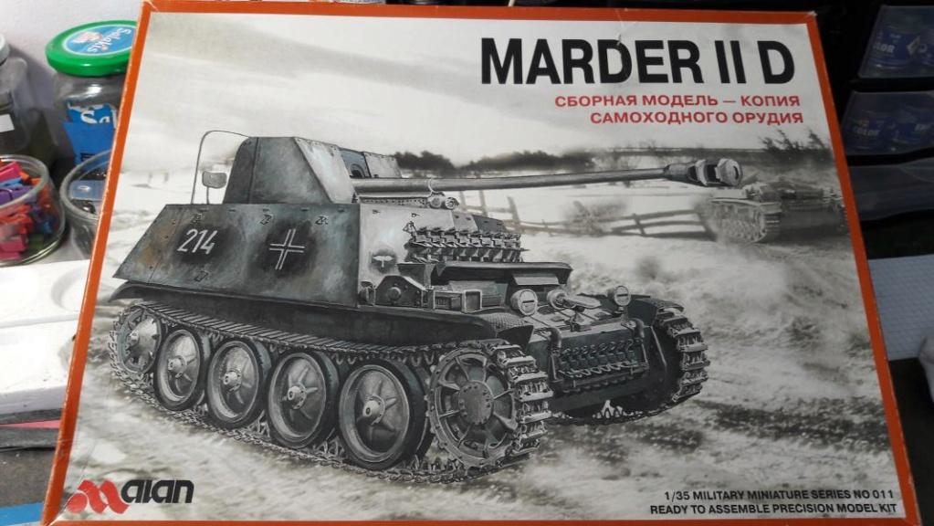 Ouvre boite Marder II D de chez ALAN 1/35 014