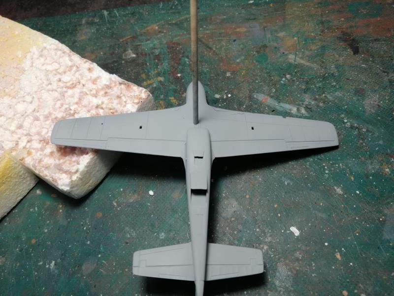 P-51B Mustang de chez Revell au 1/72 FINI !!!!! 1054