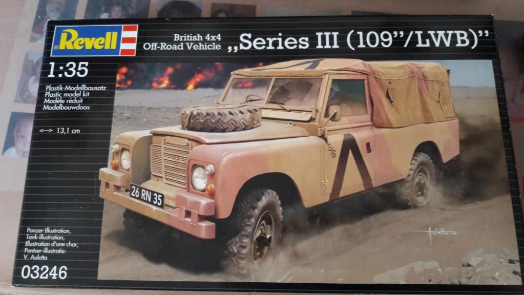 Landrover Série III (109'' /LWB)'' Revell 1/35 FINI !!!!!!!!!!!!!! 1109