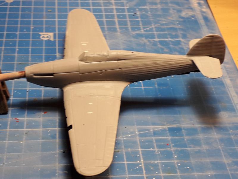 PK -11 Hawlker Hurricane IIC 1/72 Matchbox FINI!!!!!!! 1113