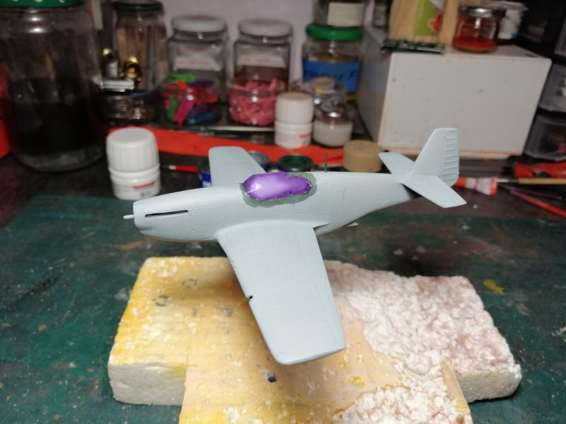 P-51B Mustang de chez Revell au 1/72 FINI !!!!! 1151