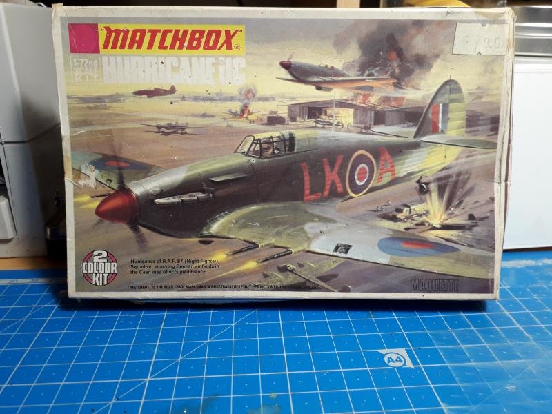 PK -11 Hawlker Hurricane IIC 1/72 Matchbox FINI!!!!!!! 116