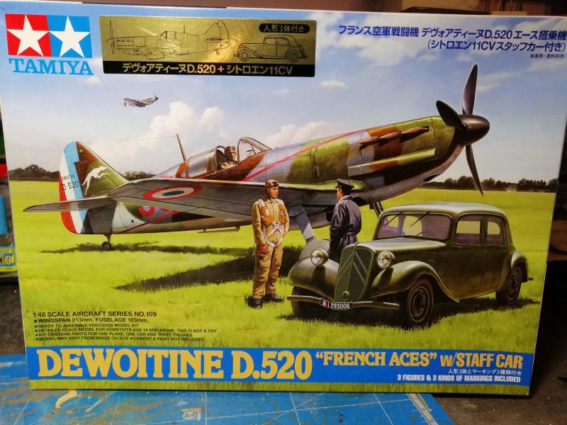 Dewoitine D520 Tamiya 1/48 FINI!!!!!!!!!! 1166