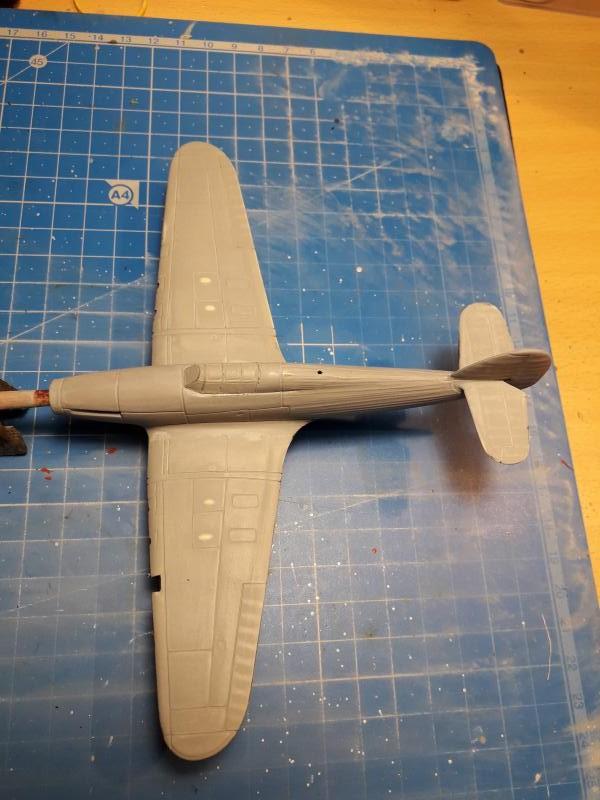 PK -11 Hawlker Hurricane IIC 1/72 Matchbox FINI!!!!!!! 1213
