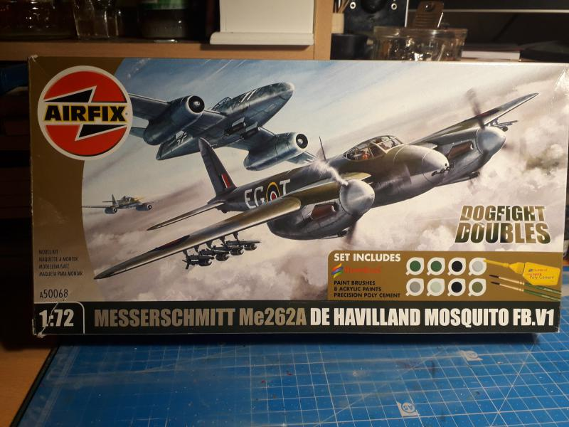 Ouvre-boite Messerschmitt ME 262A 1/72 Airfix 123