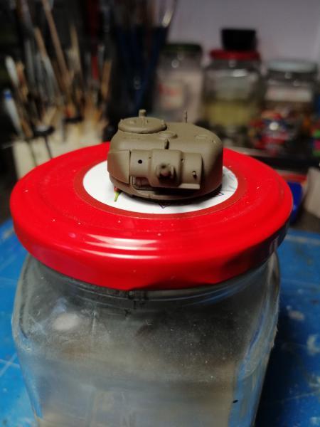 Sherman M4 Heller 1/72 FINI!!!!! avec son socle 1256