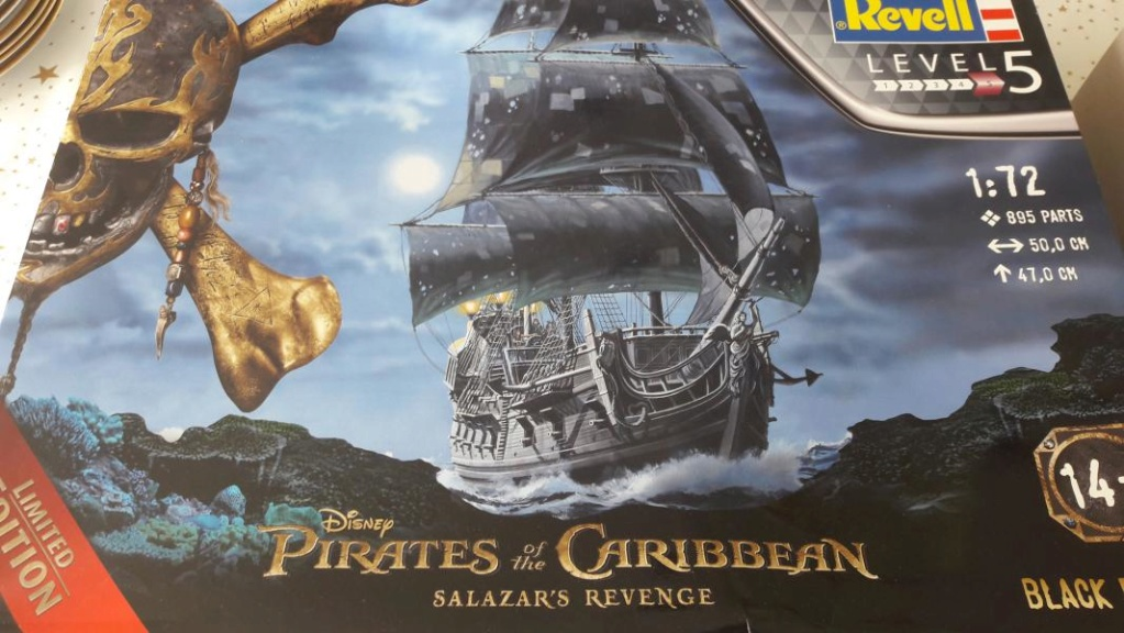 Le Blackpearl Revell 1/72 136