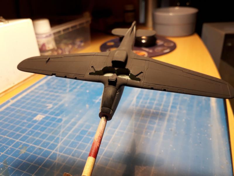 PK -11 Hawlker Hurricane IIC 1/72 Matchbox FINI!!!!!!! 1412