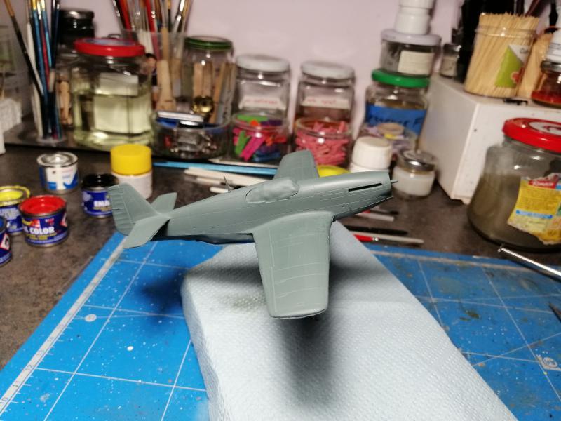 P-51B Mustang de chez Revell au 1/72 FINI !!!!! 1442